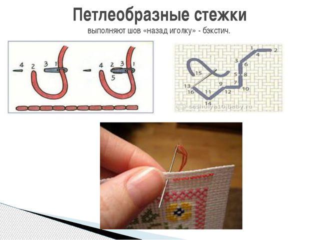 Как сделать первый стежок в вышивке