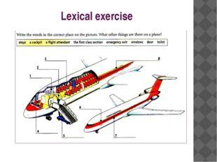 Lexical exercise