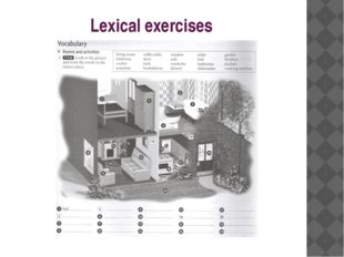 Lexical exercises