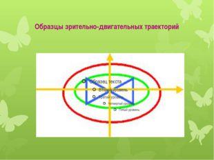 Образцы зрительно-двигательных траекторий