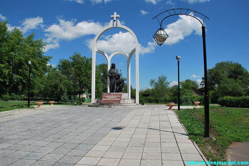 Фото Городов России /Хакасия/Абакан/Памятник погибшим в лока…