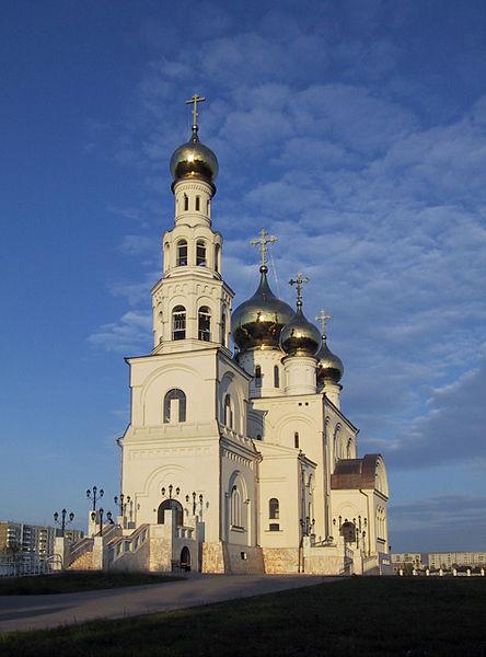 Спасо-Преображенский Кафедральный Собор в г. Абакан