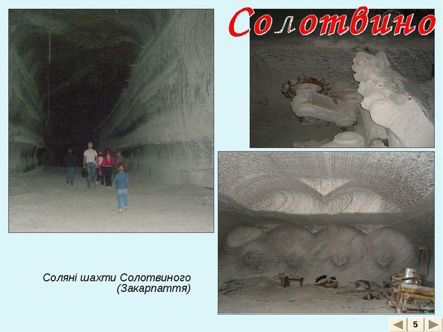 Соляні шахти Солотвиного (Закарпаття) 5