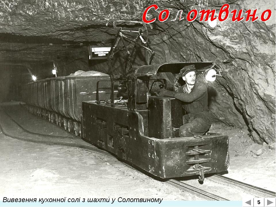 Вивезення кухонної солі з шахти у Солотвиному 5