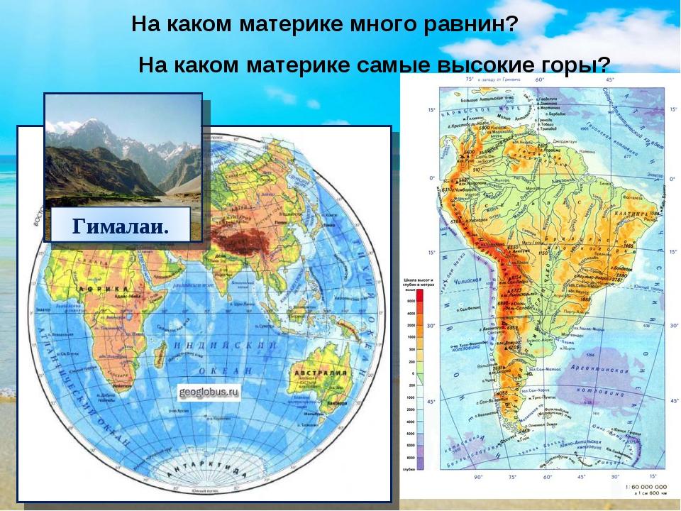 Вахрушев окружающий мир 2 класс конспект урока горы и равнины