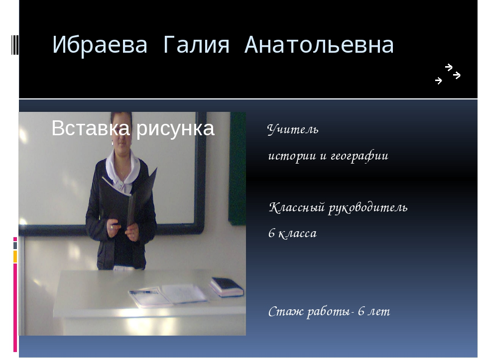 Ибраева Галия Анатольевна Учитель истории и географии Классный руководитель 6...