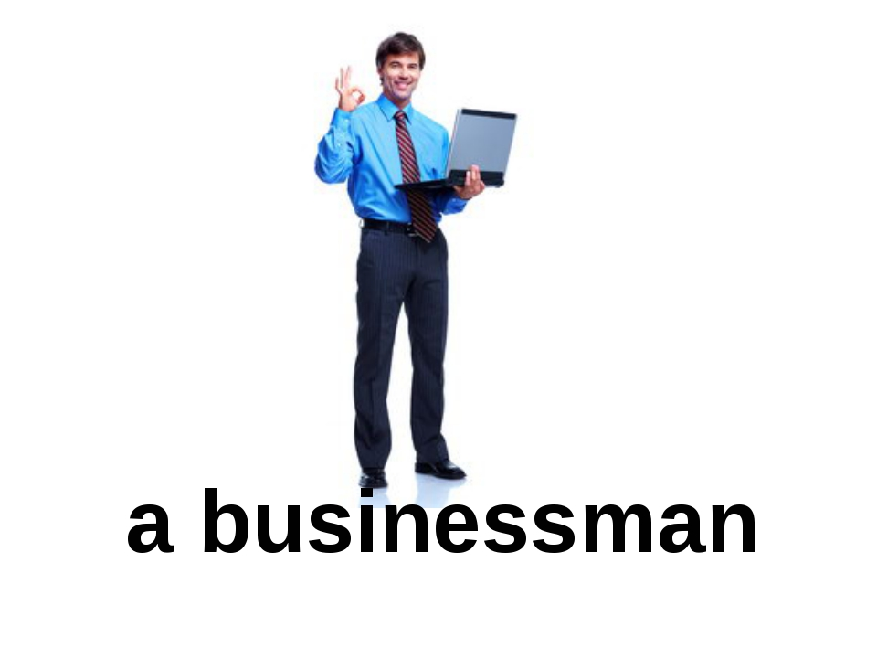 a businessman