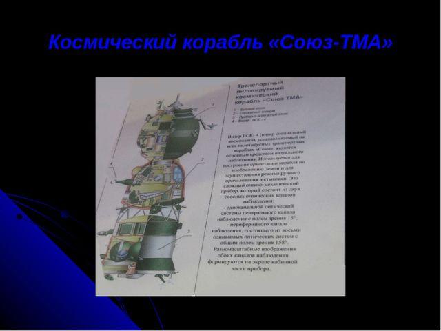 Космический корабль «Союз-ТМА»