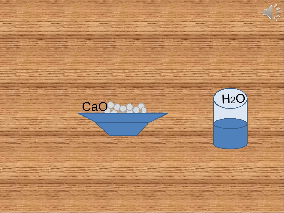 CaO H2O