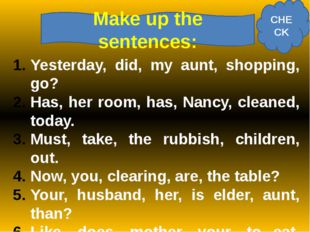 Complete the sentences with reflexive pronouns Do you like the salad? I have