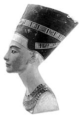 Царица Нефертити, жена Эхнатона Бюст из Археологического музея Флоренции