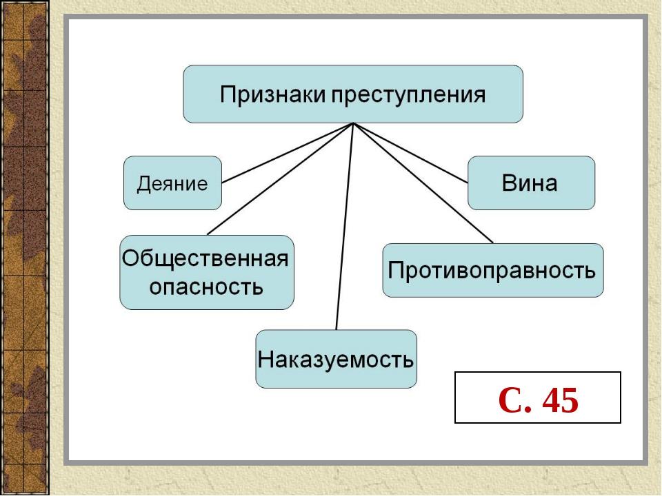 С. 45