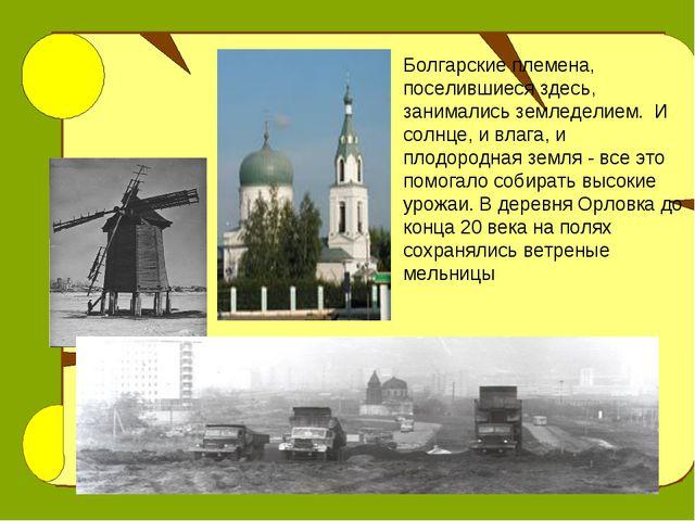 Болгарские племена, поселившиеся здесь, занимались земледелием. И солнце, и в...
