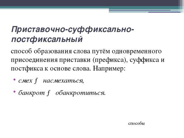Усечение способ образования производных слов (существительных) путём усечения...