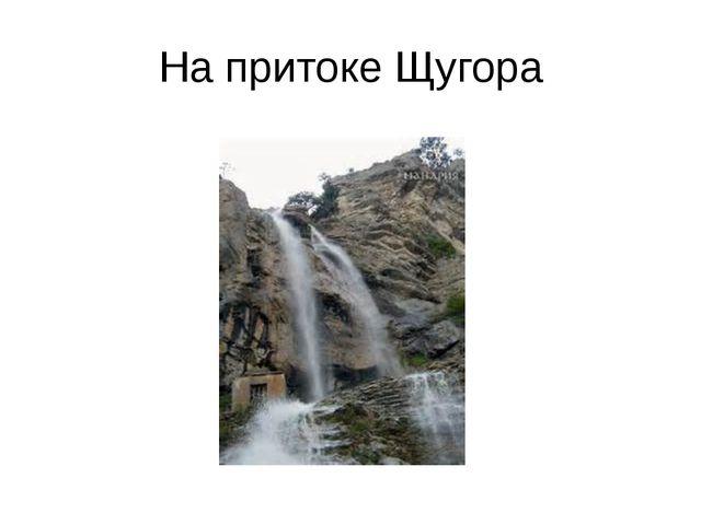 На притоке Щугора