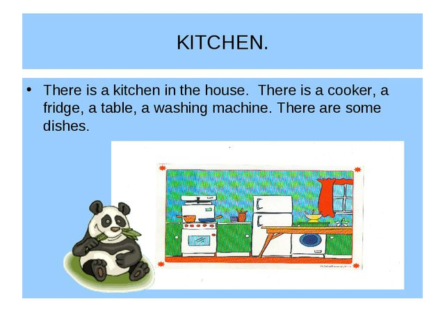 KITCHEN. There is a kitchen in the house. There is a cooker, a fridge, a tabl...