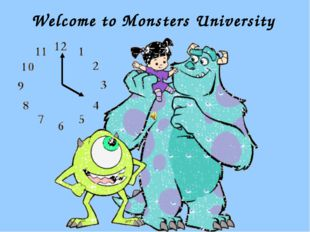 Welcome to Monsters University