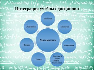 Интеграция учебных дисциплин