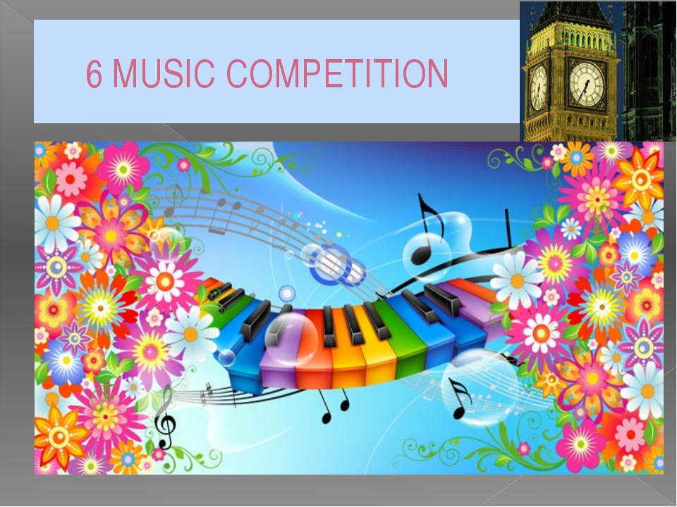6 MUSIC COMPETITION