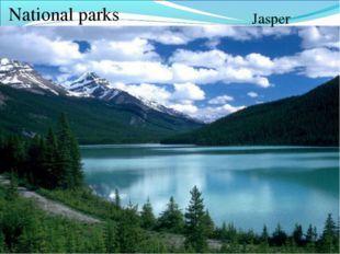 National parks Jasper