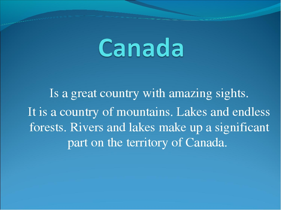 Is a great country with amazing sights. It is a country of mountains. Lakes a...