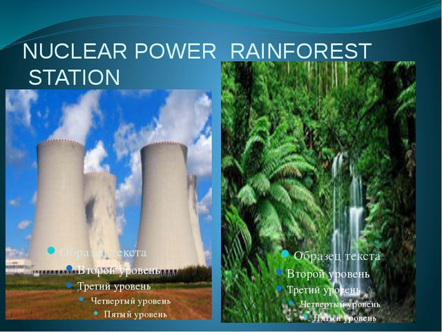 NUCLEAR POWER RAINFOREST STATION