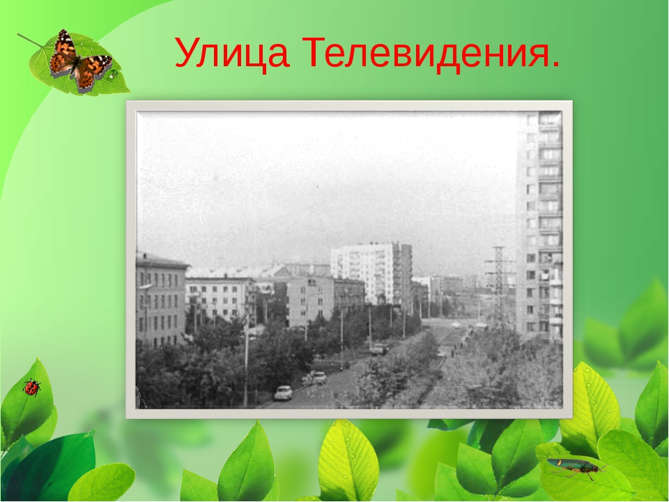 Улица Телевидения.