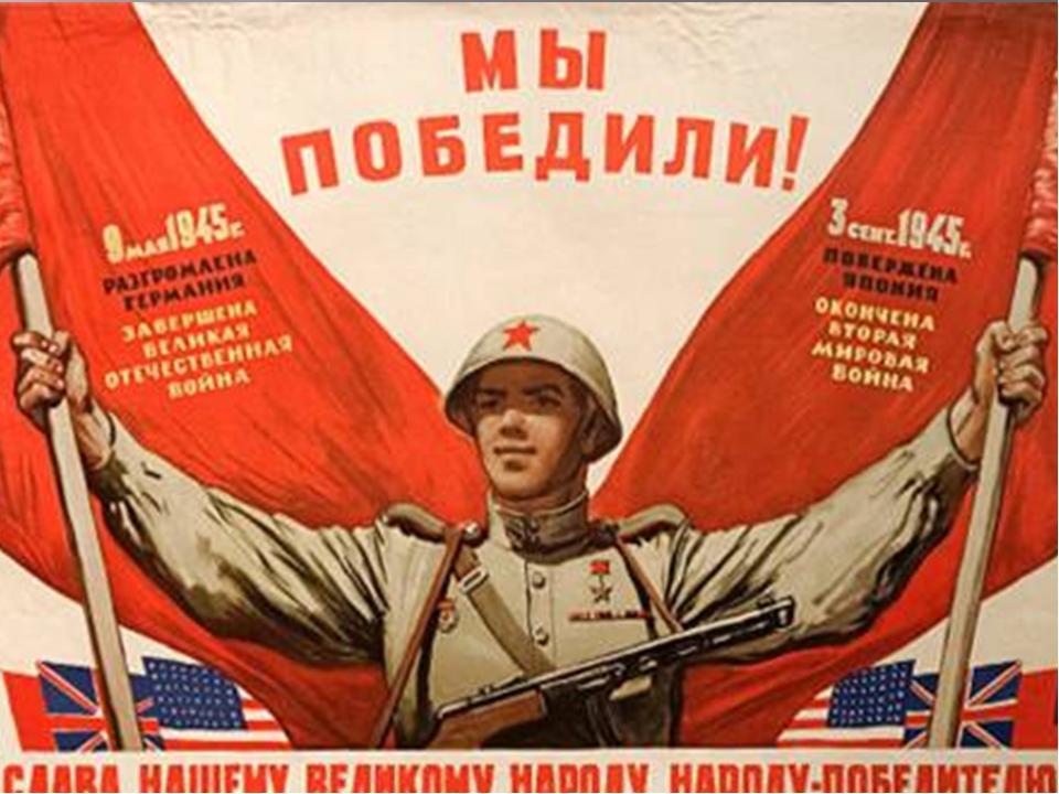 Поздравление с днем окончания второй мировой войны
