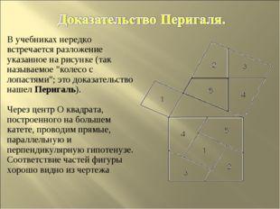 В учебниках нередко встречается разложение указанное на рисунке (так называем