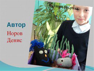 Автор Норов Денис