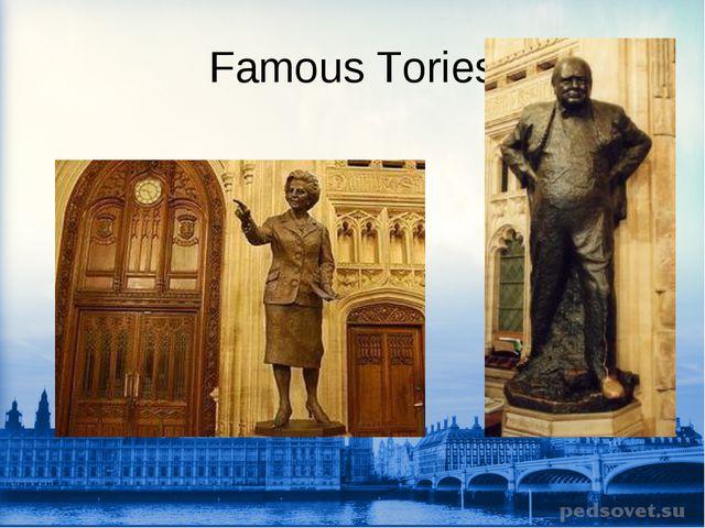 Famous Tories