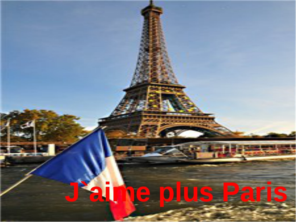 J`aime plus Paris