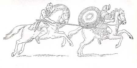 Последний бой Спартака (фреска из дома Феликса)