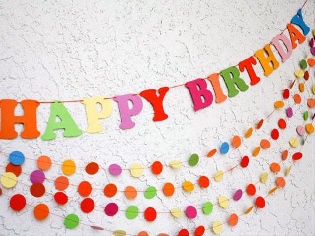 Как сделать вывеску своими руками с днем рождения