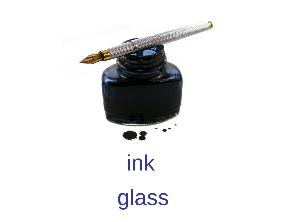 ink glass