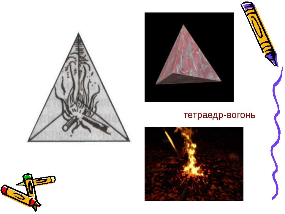 тетраедр-вогонь