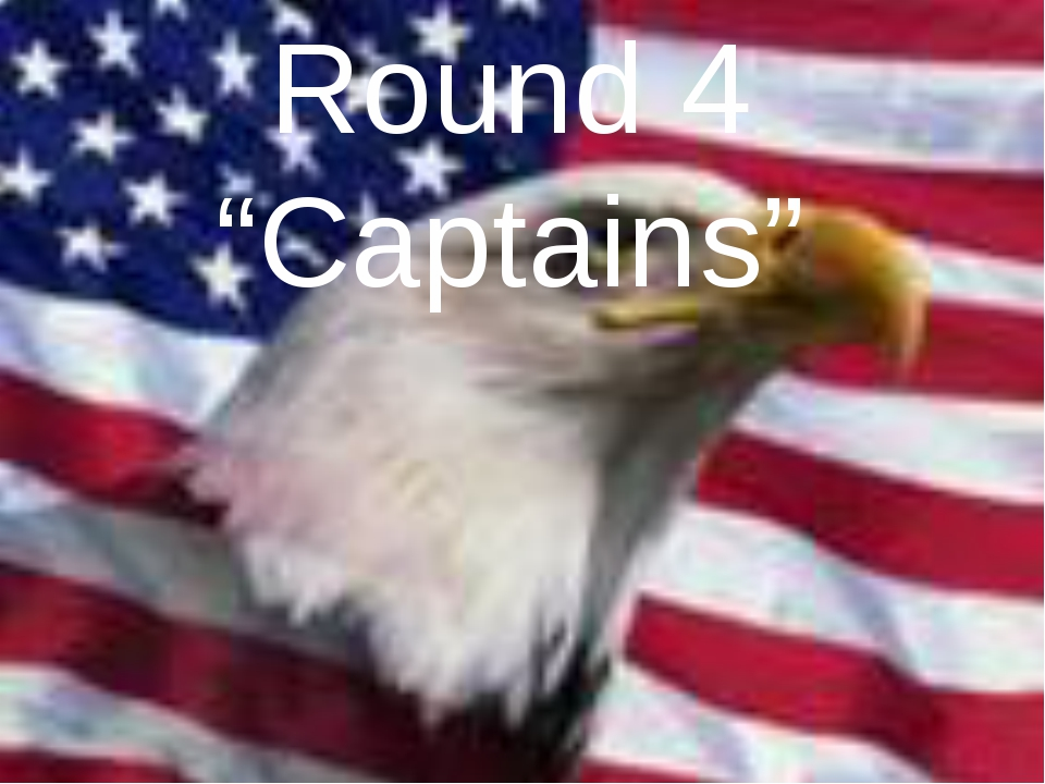"Round 4 ""Captains"""