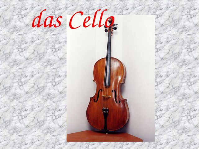 das Cello