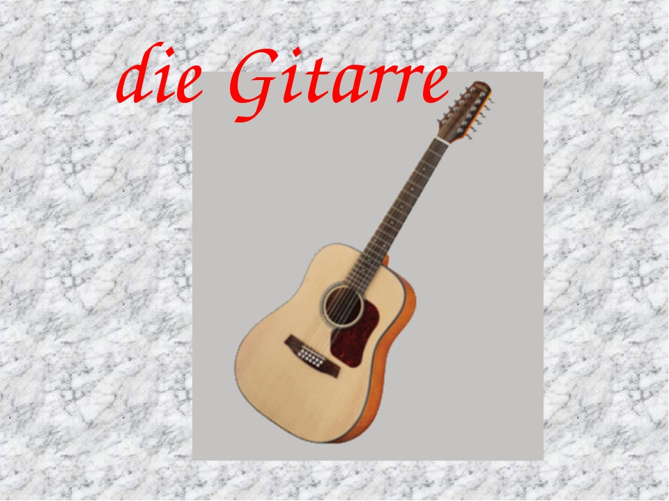 die Gitarre