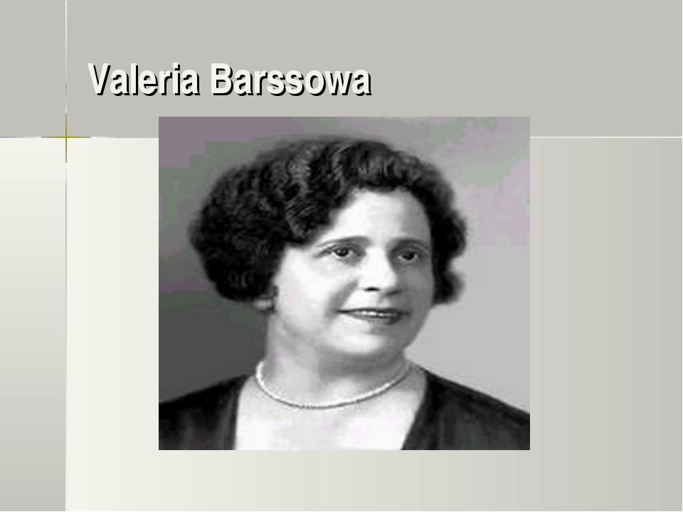 Valeria Barssowa