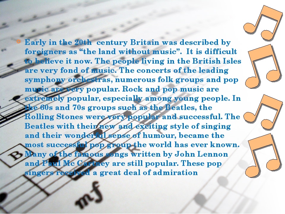 """Early in the 20th century Britain was described by foreigners as """"the land wi..."""
