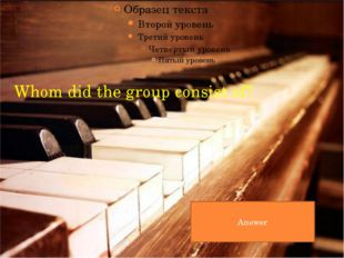 Musical education in schools is very important. A music lesson is one of the