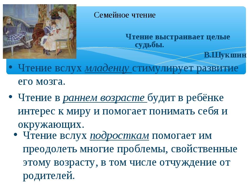 Чтение вслух младенцу стимулирует развитие его мозга. Чтение в раннем возраст...