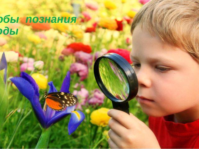 Способы познания природы 5 класс