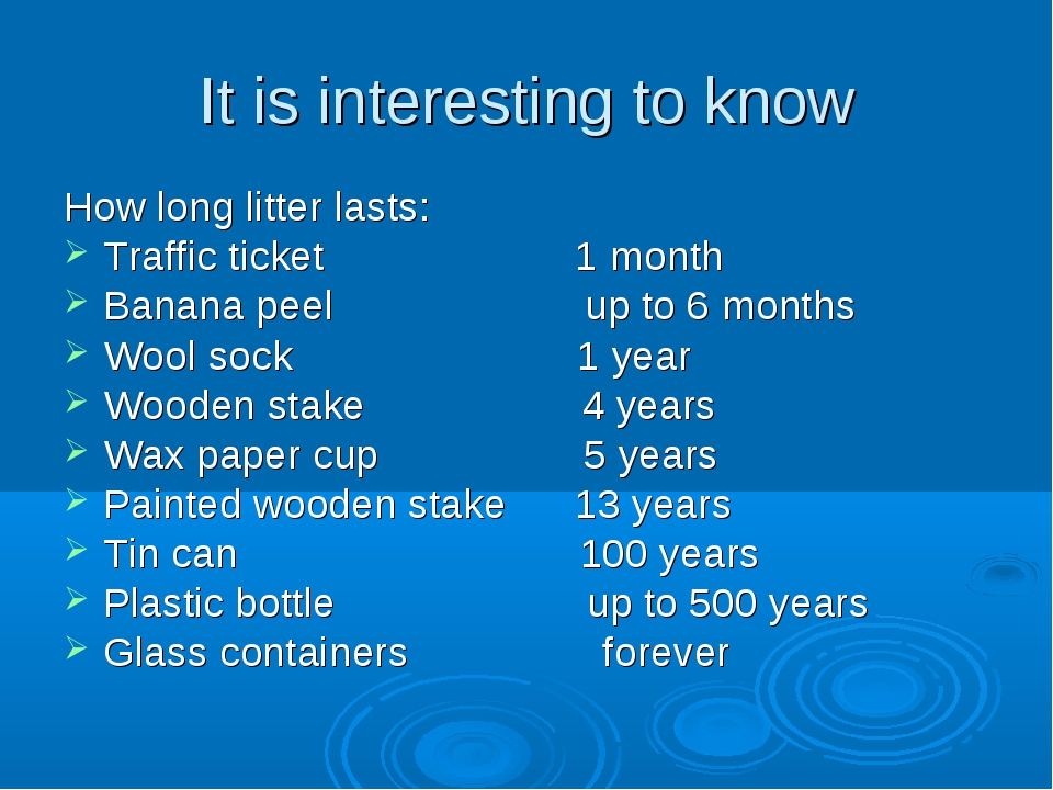It is interesting to know How long litter lasts: Traffic ticket 1 month Banan...