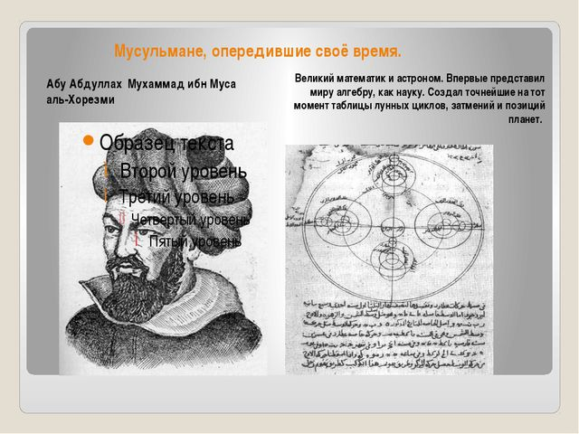 Мусульмане, опередившие своё время. Великий математик и астроном. Впервые пре...