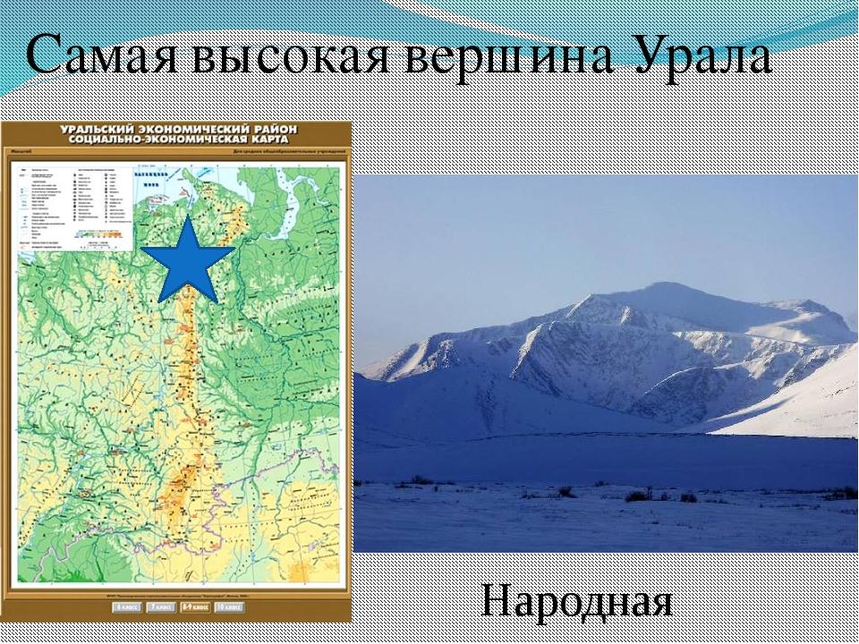 Самая высокая вершина Урала Народная