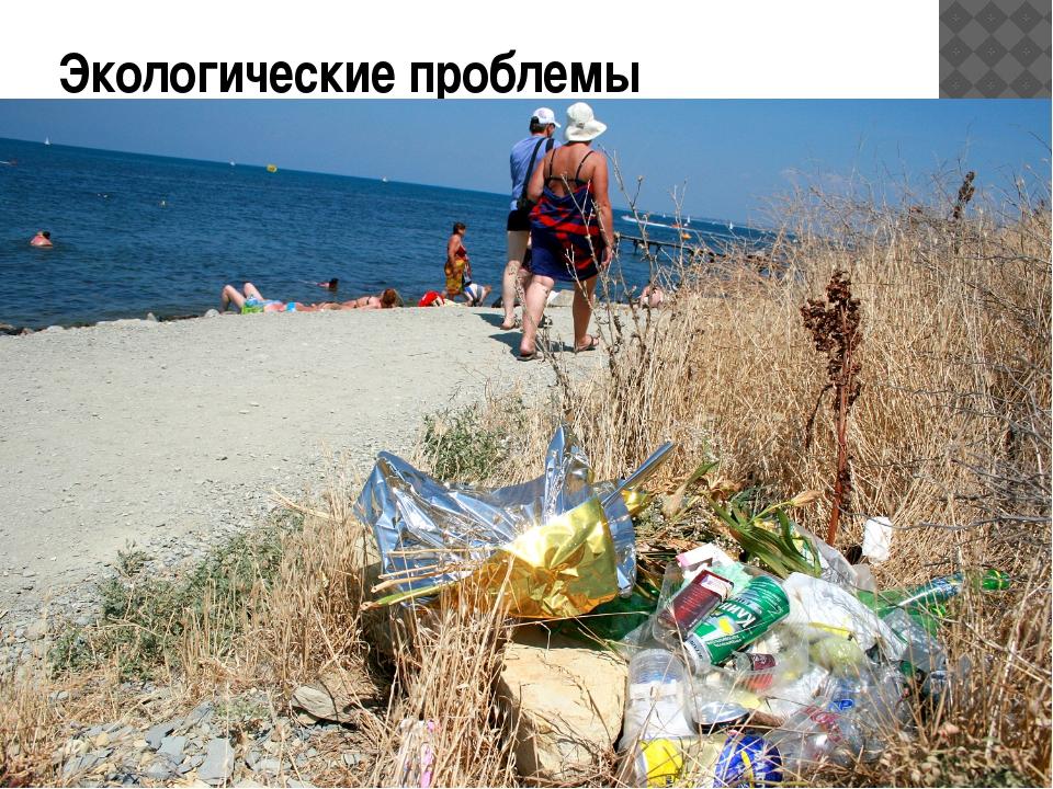 Экологические проблемы Современное человечество разрушает свое биологическое...