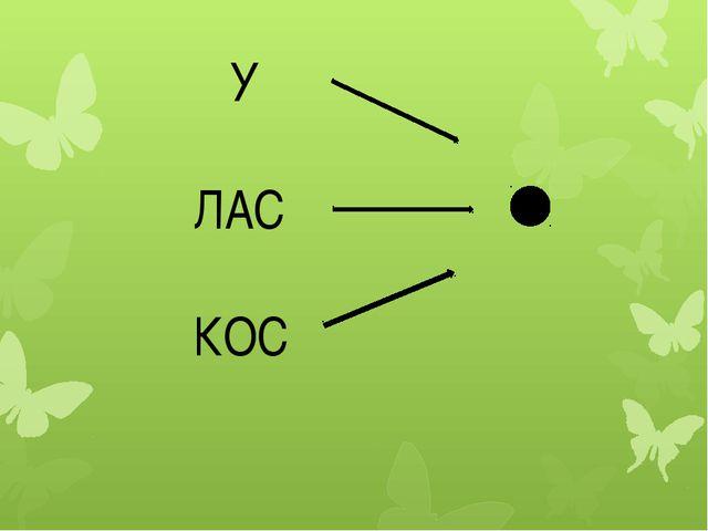 У ЛАС КОС