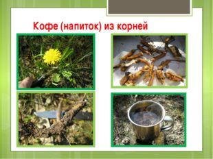 Кофе (напиток) из корней